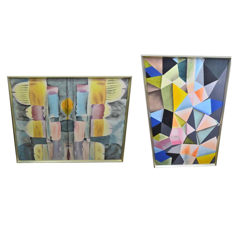Bungalow 5 Silk Paintings