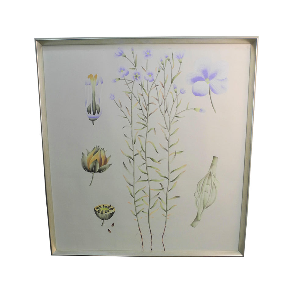 Bungalow 5 Auer Framed Silk Panel Painting